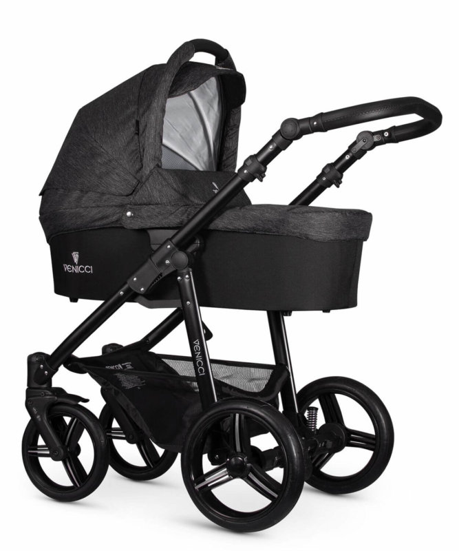 Carucior 3 in 1 Venicci Denim Black - Landou